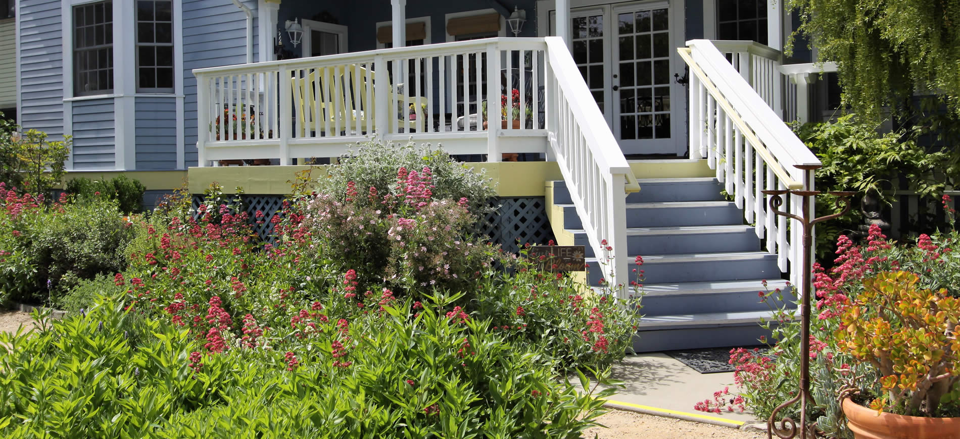 best boutique inn cambria gardens and deck