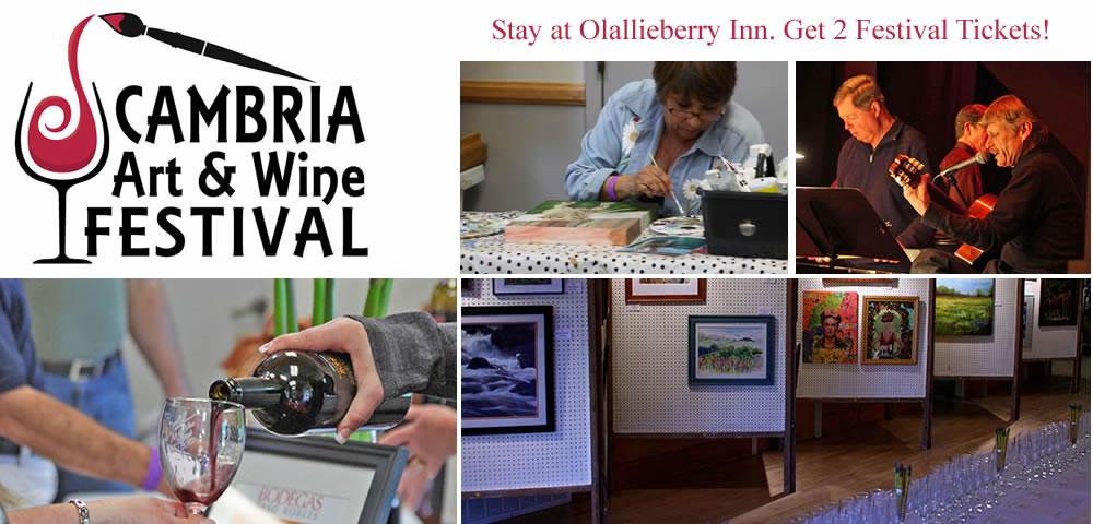 cambria art & wine festival