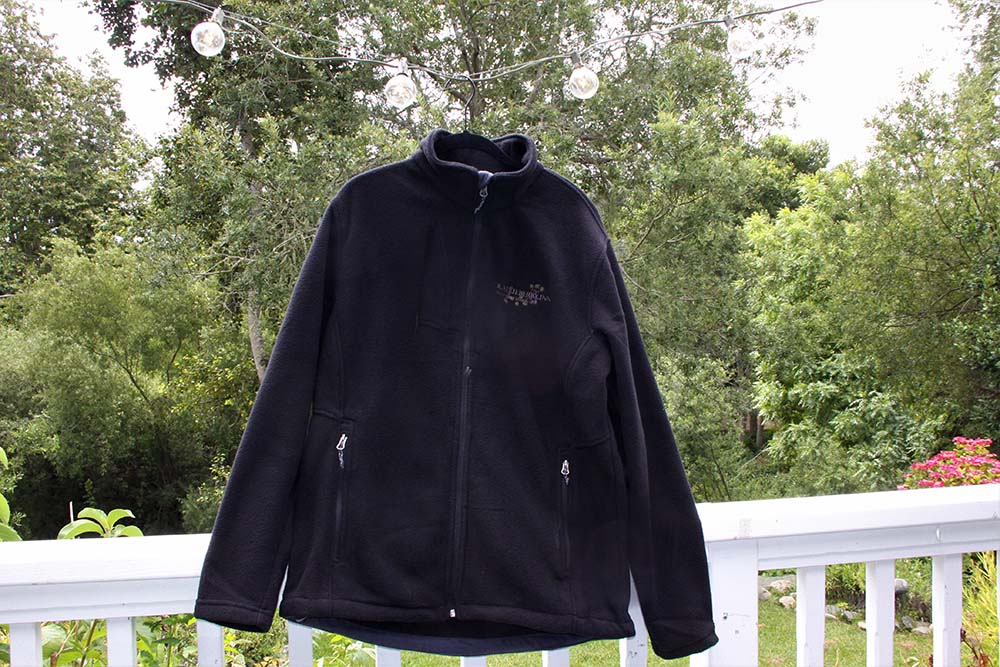 olallieberry inn fleece jacket